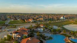 Droneshot of Viridian Community