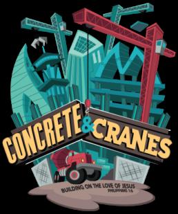 Concrete & Cranes Camp Logo